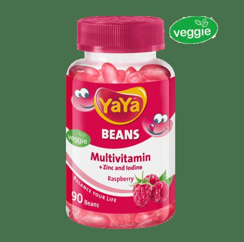 YaYa Beans Multivitamin + Zinc & Iodine