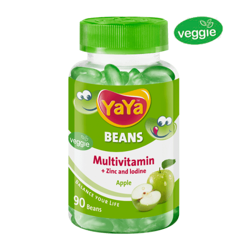 YaYa Beans Multivitamin + Zinc & Iodine (Apple)