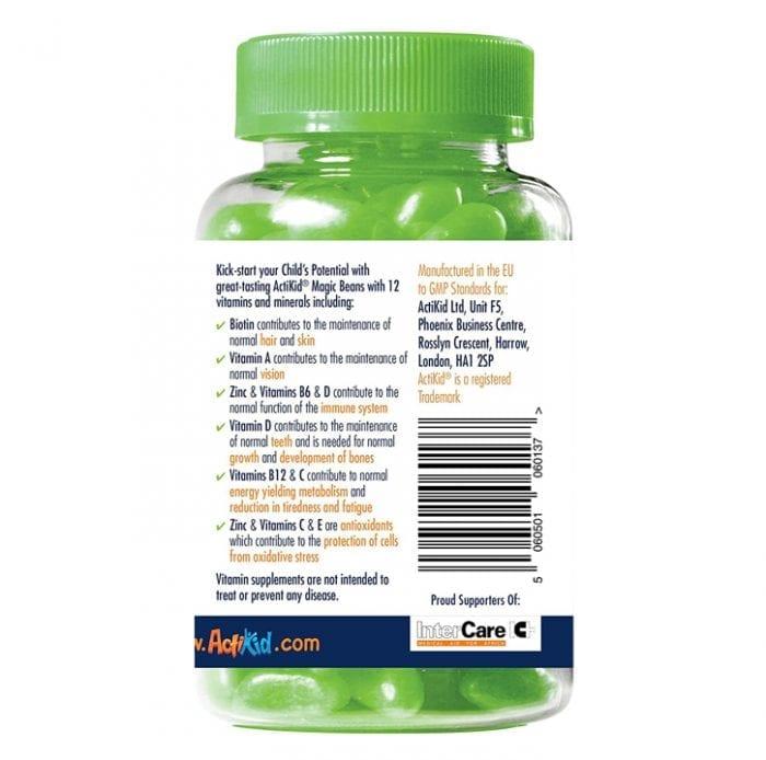 ActiKid® Magic Beans Multi-Vitamin Apple Flavour